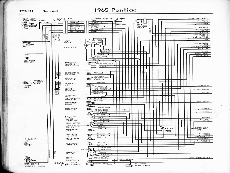 wiring diagram for 1967 pontiac gto