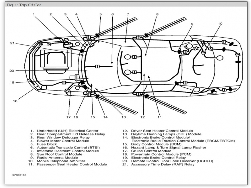 buick body control module location