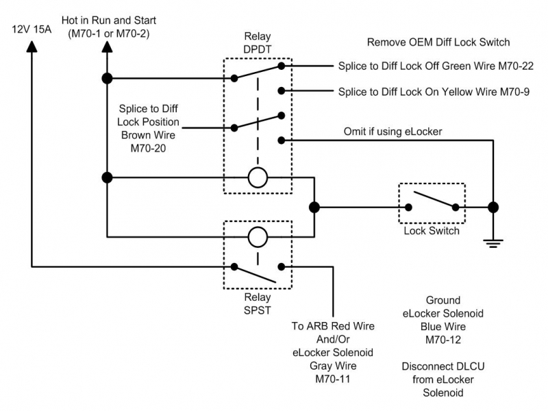 nissan frontier fog light relay wiring diagram